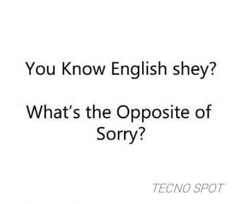Do you Know English language? - TECNO MOBILE COMMUNITY