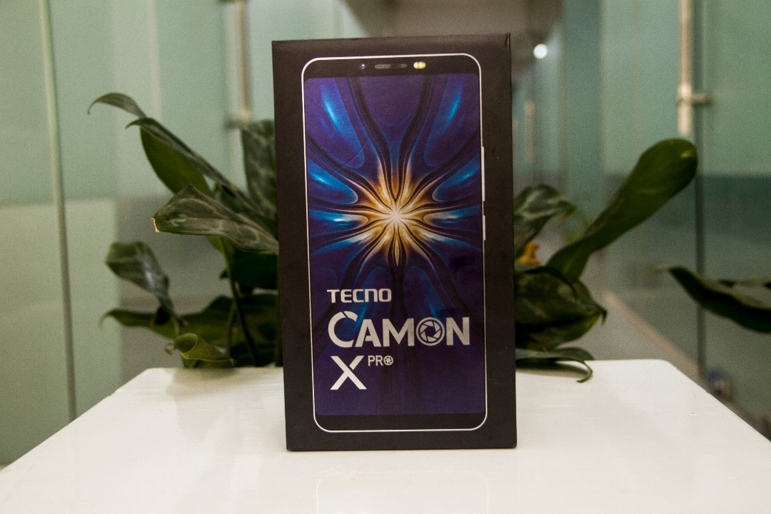THE NEW CAMON X PRO UNBOXING + VIDEO - TECNO MOBILE
