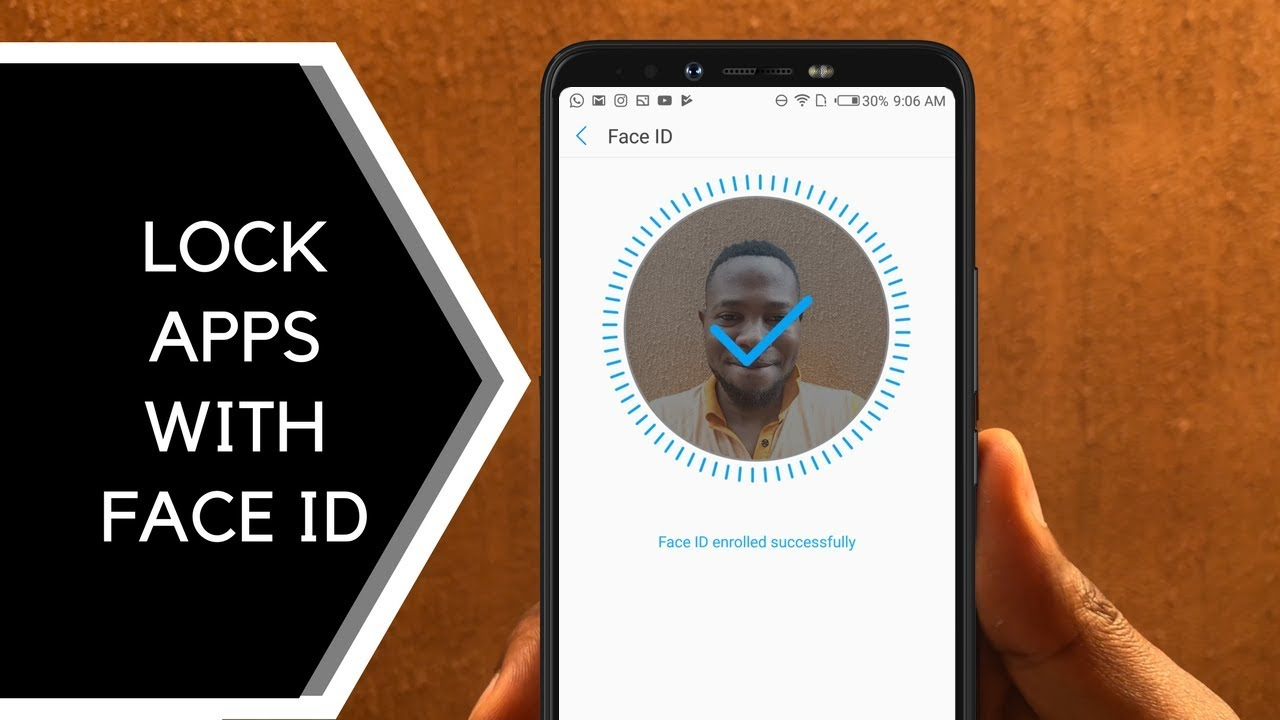 USING THE FACE ID TO LOCK APPS ON CAMON X AND X PRO - TECNO