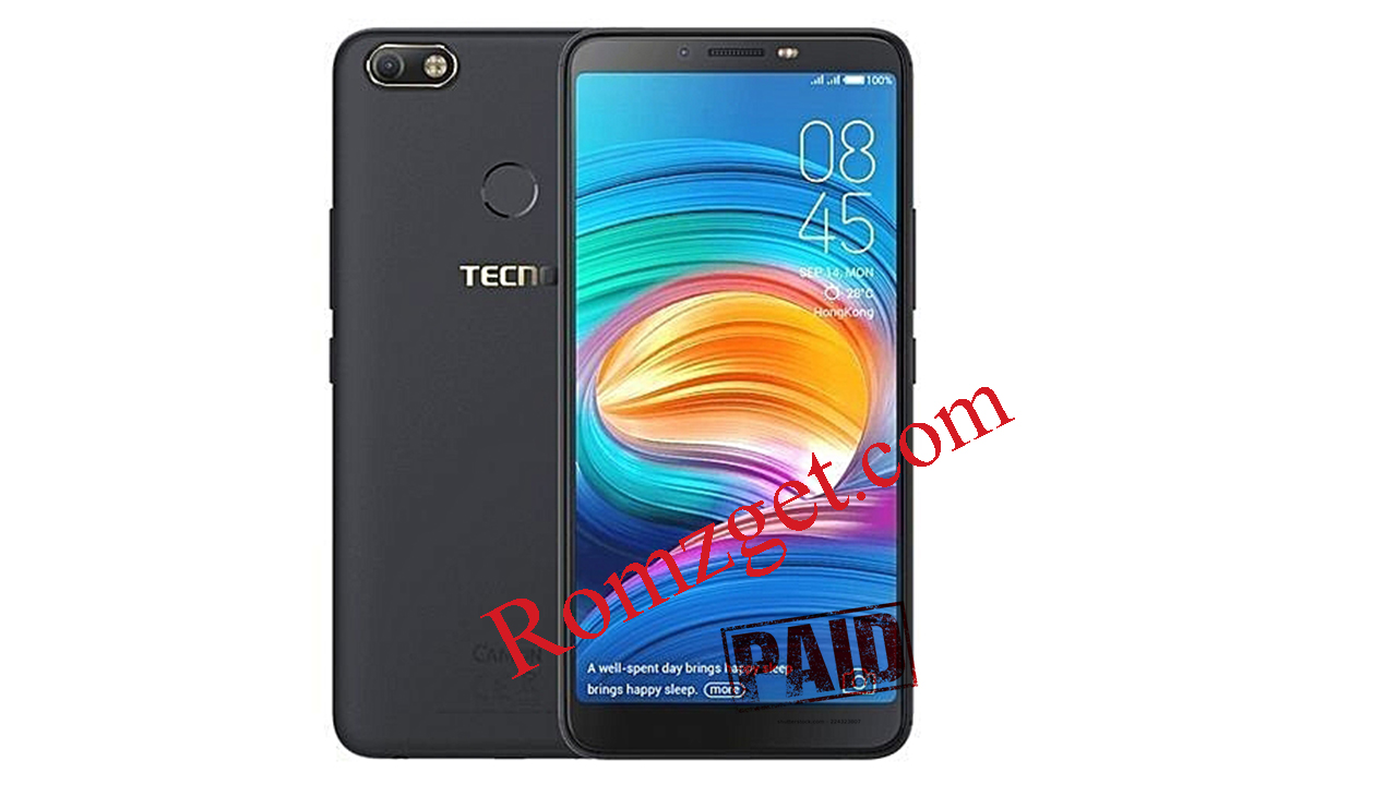 DOWNLOAD TECNO CAMON X PRO CA8 (SIGNED FIRMWARE)TESTED by