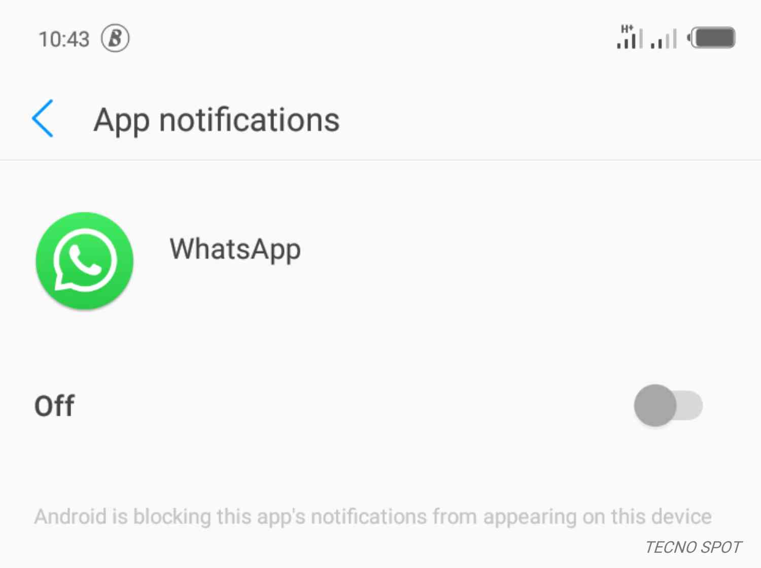 Notifications not stable after update on Camon 11 pro - TECNO MOBILE