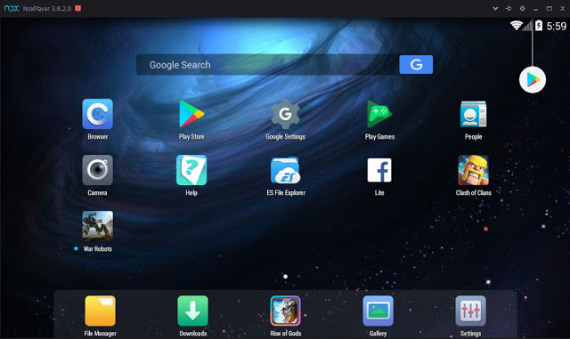 how to run android mobile app on pc