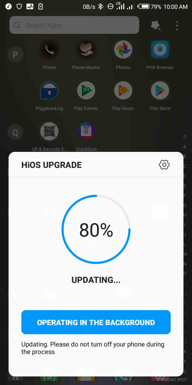 Hios Update on Tecno Camon X - TECNO MOBILE COMMUNITY OFFICIAL FORUM