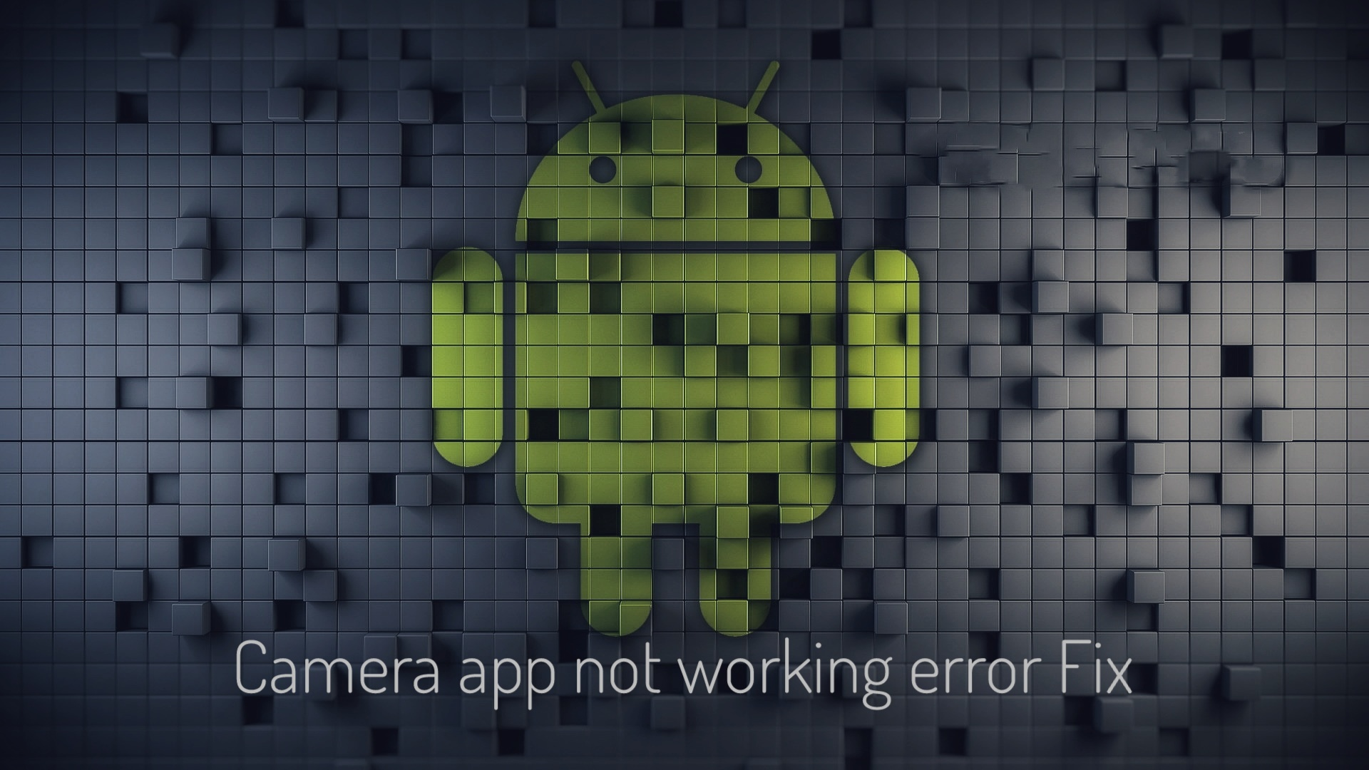 Camera app not working error fix - TECNO MOBILE COMMUNITY
