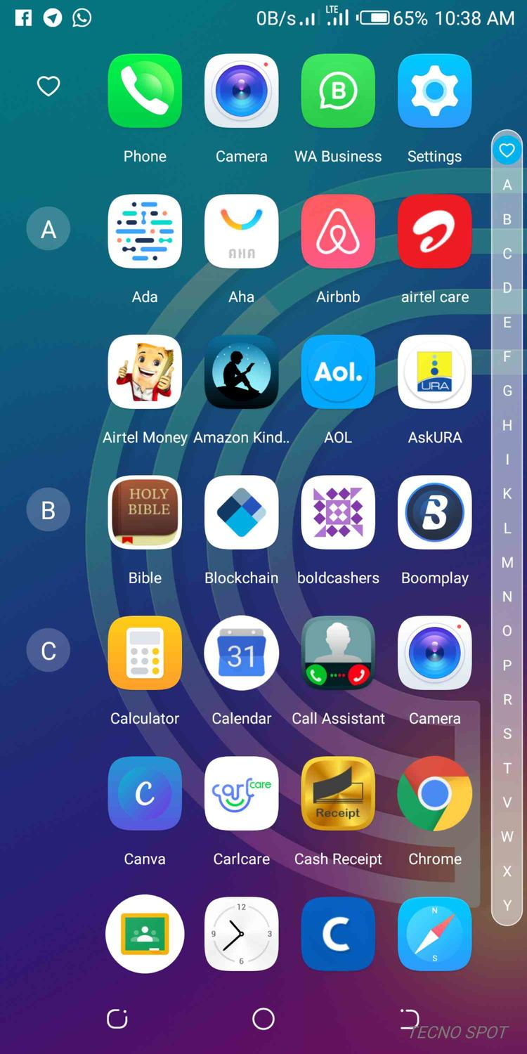 Arranging apps Camon X Pro - TECNO MOBILE COMMUNITY OFFICIAL FORUM