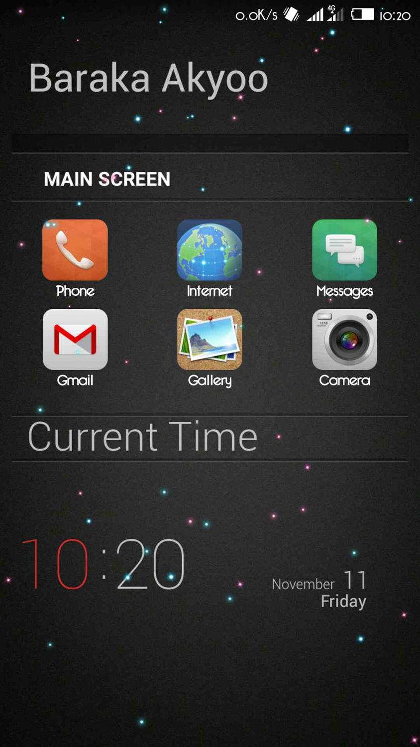Custom design with Buzz launcher - TECNO MOBILE COMMUNITY OFFICIAL FORUM