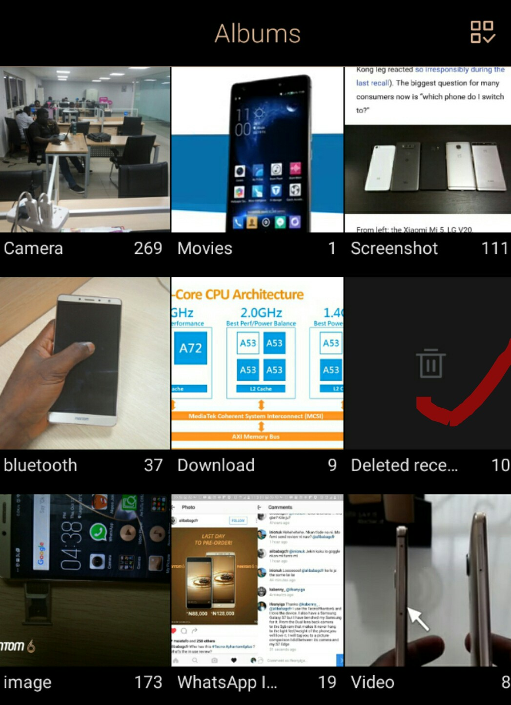 The Gallery App on Tecno Latest devices - TECNO MOBILE