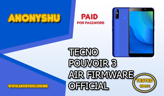 TECNO POUVOIR 3 AIR LC6 FIRMWARE FLASH FILE OFFICIAL STOCK