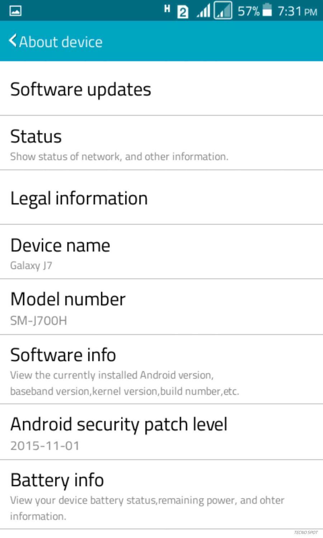 Samsung Galaxy J7 Custom Rom for TECNO Y2 2016 BUILD - TECNO MOBILE