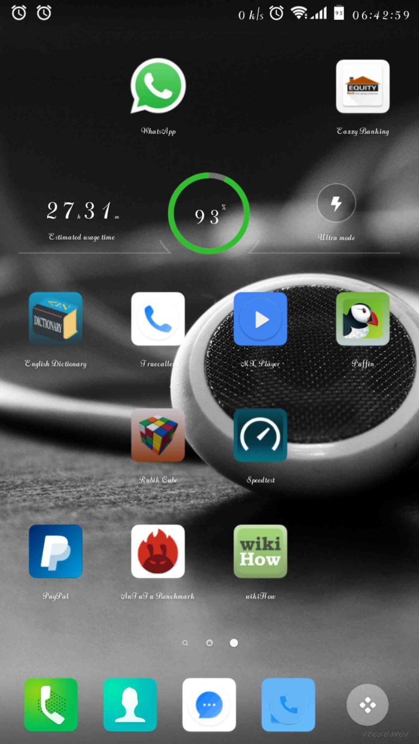 Found a way to access system UI in tecno K7 and add battery