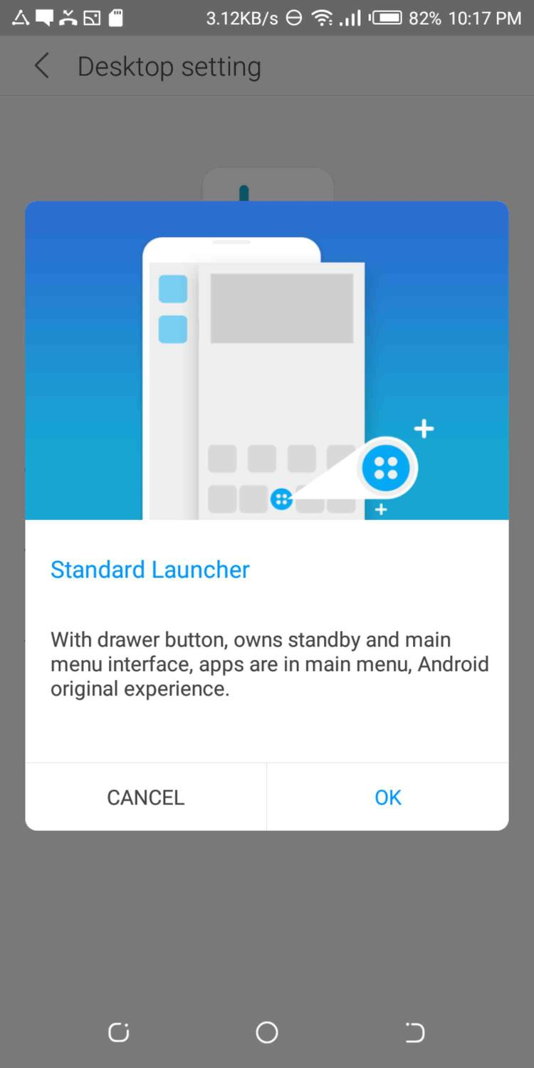 How To Restore Menu Option On TECNO SPARK 2 Launcher