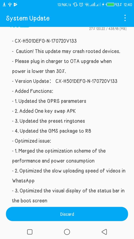 Camon CX & CX Air OTA Updates  - TECNO MOBILE COMMUNITY