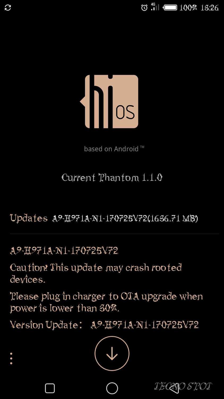 Android N OTA Upgrade has Arrived Phantom 6 Plus