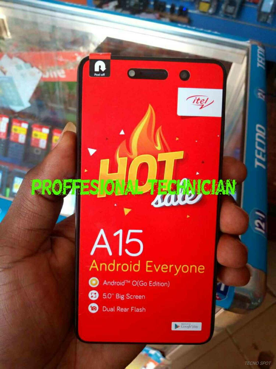 ITEL A15 MT6580 FIRMWARE FLASH FILE STOCK ROM - TECNO MOBILE