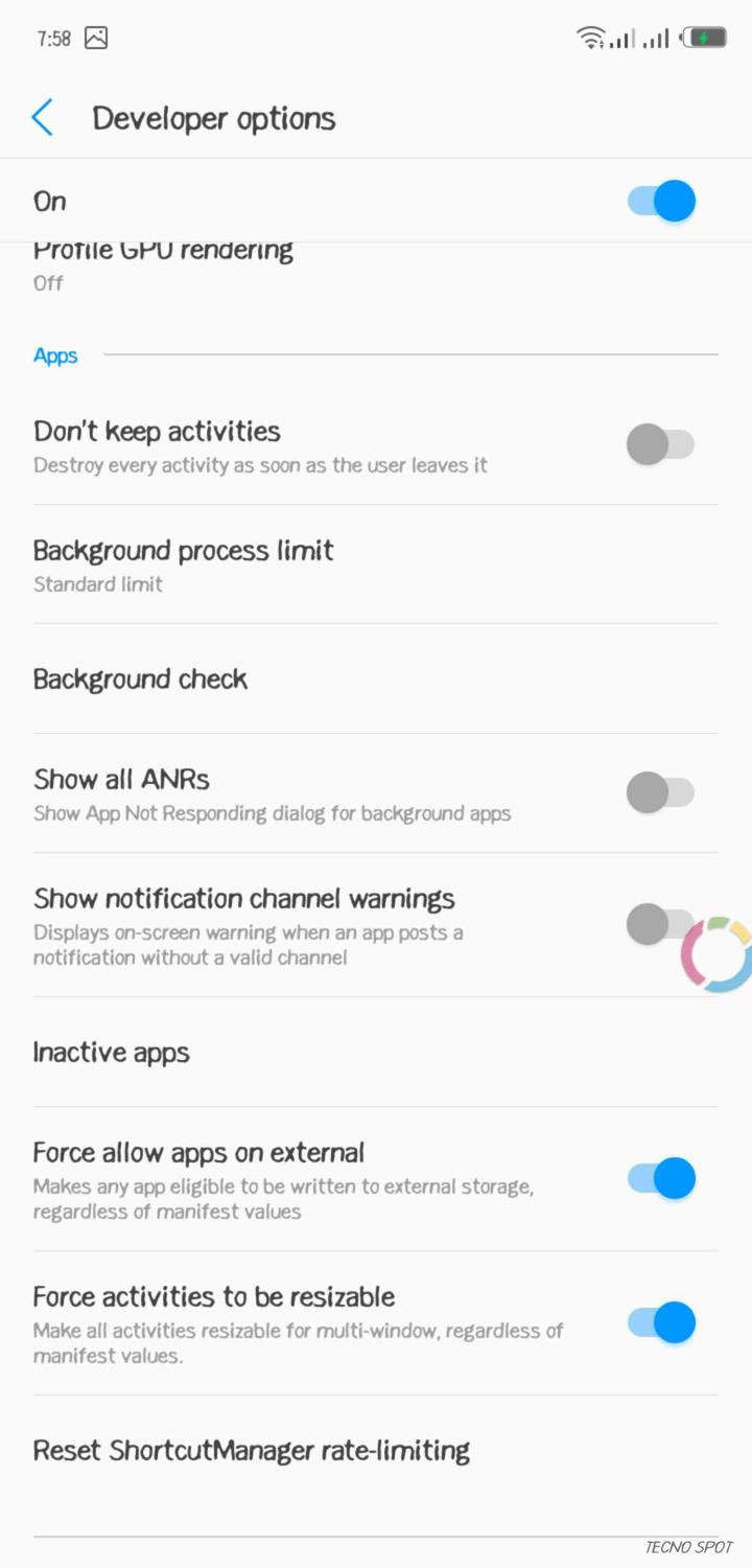 how to use multi window for all apps - TECNO MOBILE