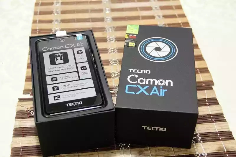 Camon CX Air-Full unboxing pictures and first impression