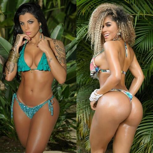Images of bikini models