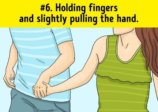 what does holding hands signify